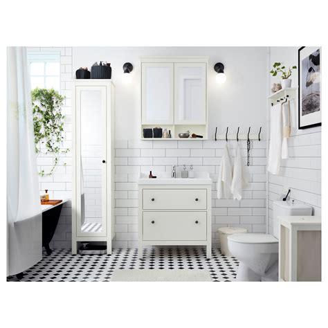 bathroom mirror ikea hemnes mirror cabinet with 2 doors white 83x16x98 cm ikea