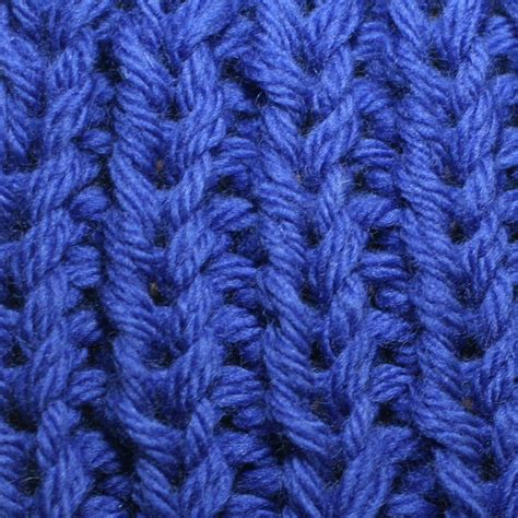 knit 1 purl 1 rib stitch ribbing knitting