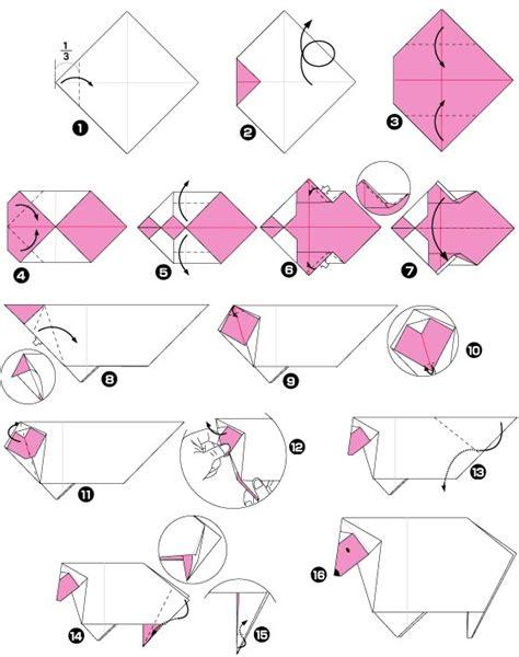 sheep origami sheep origami