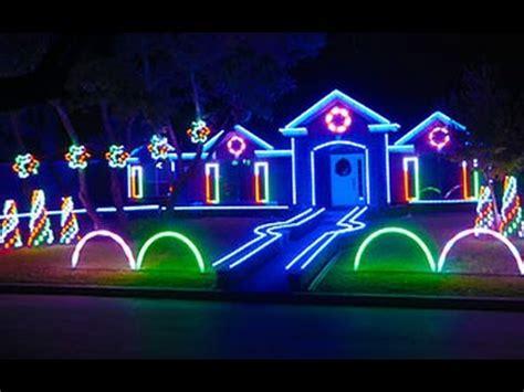 home light show 2015 johnson family dubstep light show