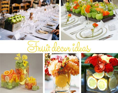 fruit decoration for fruits wedding table decorations part two wedding