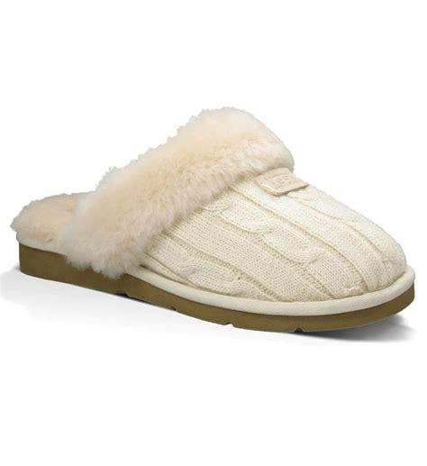 knit slippers ugg cozy knit slippers 1865 ugg sleepwear