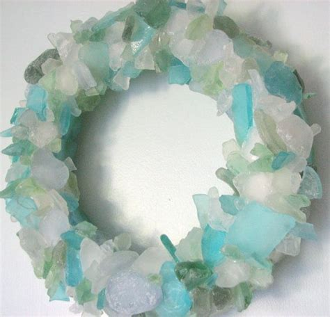 out of sea glass best 20 sea glass decor ideas on sea glass