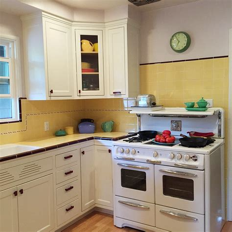 1940s kitchen design carolyn s gorgeous 1940s kitchen remodel featuring yellow