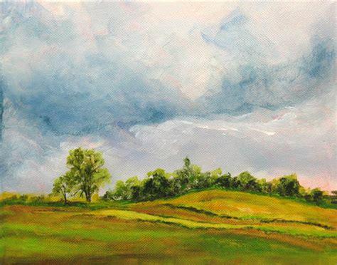 acrylic painting landscape daily painters marketplace countryside acrylic landscape