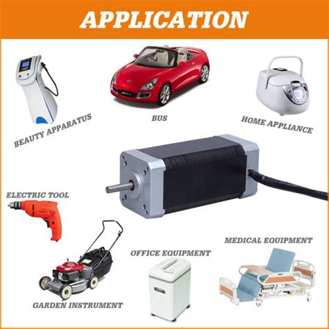 Application Of Electric Motor by China 6v 36v Bldc Electric Geared Brushless Dc Motor For