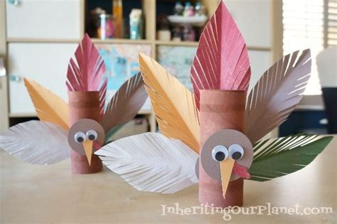 turkey toilet paper roll craft turkey toilet paper roll craft diy inspired