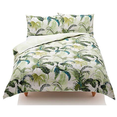 marks and spencers bedding sets palm leaf bedding from marks spencer palm leaf micro