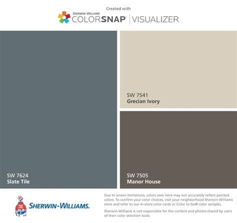 slate tile sherwin williams 17 best images about paint colors on exterior