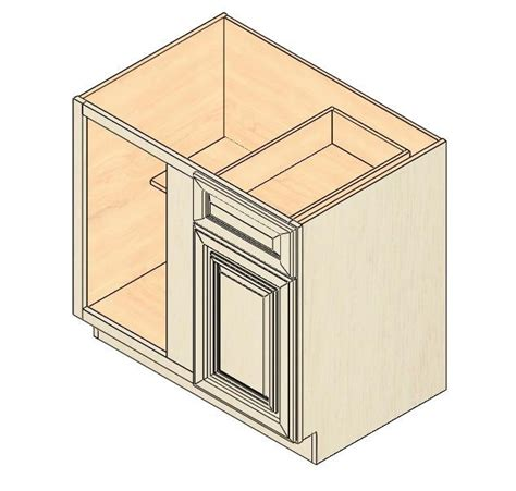 corner kitchen base cabinet bbc36 vintage white blind base corner cabinet kitchen