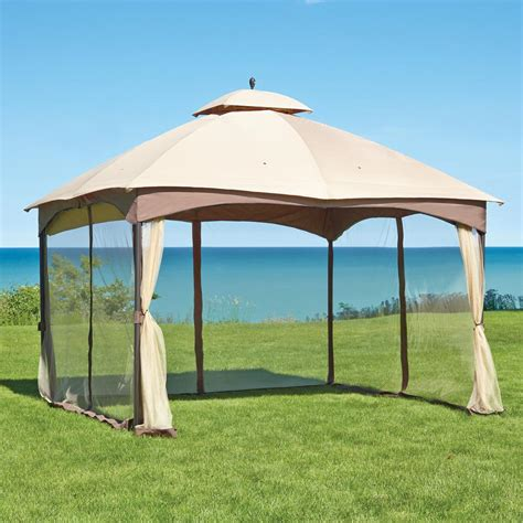 patio gazebo canopy patio canopy gazebo dc america hexagon gazebo with
