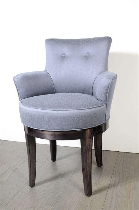 swivel vanity chair 1940s swivel vanity stool chair at 1stdibs