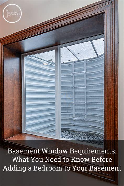 basement bedroom window basement window requirements what you need to before