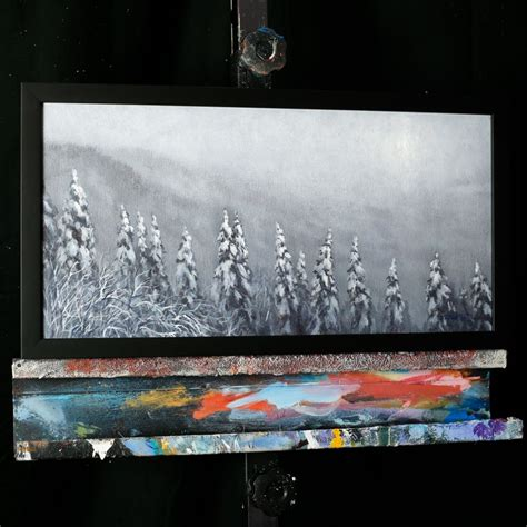 acrylic painting dvds trying to through the winter sky an acrylic