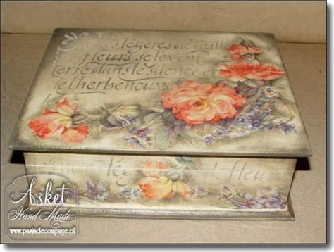 asket decoupage decoupage box made by asket lovely decoupage