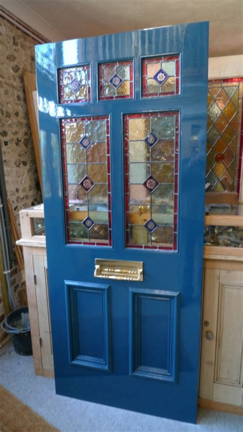 stained glass for front doors and edwardian glazed front doors
