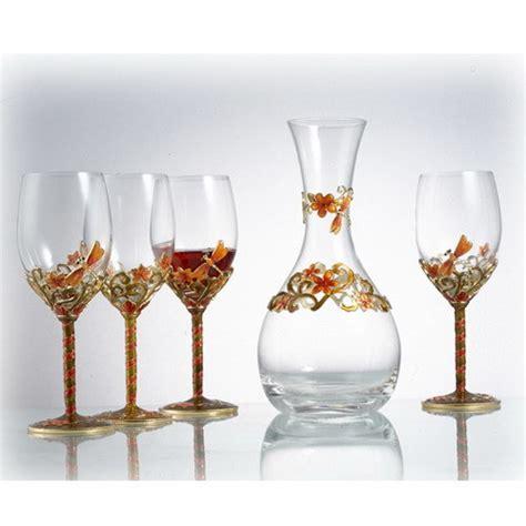 wine glass crafts china craft wine glass set r 8137j china wine glass