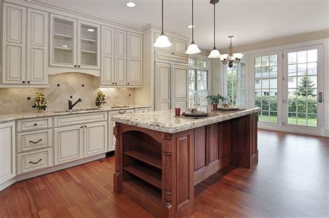 white kitchen wood island luxury kitchen ideas counters backsplash cabinets designing idea