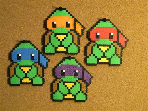 cool melty bead designs turtle perler bead perler bead designs and