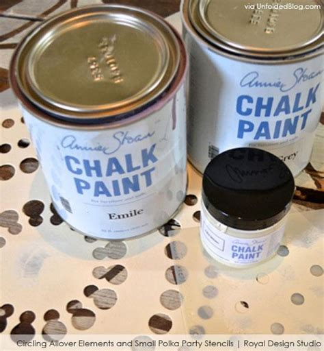 chalk paint stencils stenciling and chalk paint 174 ideas for furniture