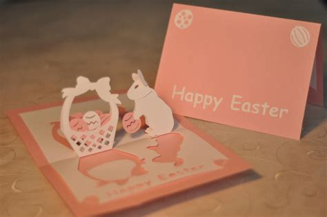 pop up cards easter bunny pop up card tutorial creative pop up cards