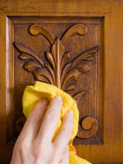 how to clean woodwork polishing wood furniture diy