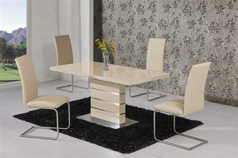 high dining table and chairs extending high gloss dining table and 6 chairs