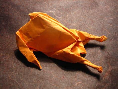 thanksgiving origami turkey