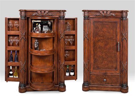 woodworking plans liquor cabinet mocha java finished wood bar cabinet bay