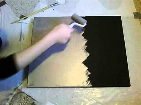 how to do acrylic paint on canvas splatter painting canvas