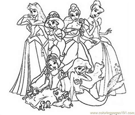 disney princess coloring pages 11 free printable