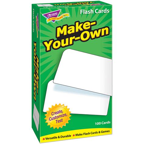 make flash cards flash cards make your own 100 box flash cards