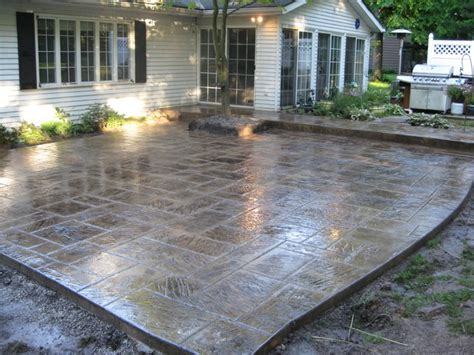 outdoor concrete patio designs concrete patio designs landscaping gardening ideas