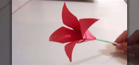 how to make flower origami how to make an origami flower 171 origami