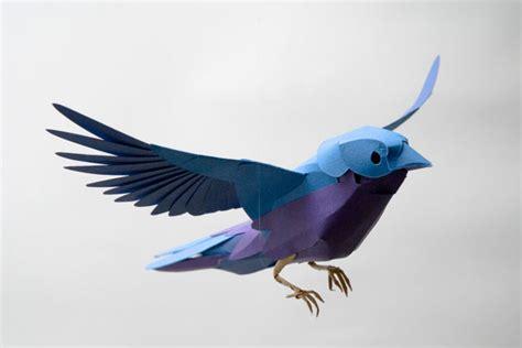 craft paper bird paper bird strictlypaper