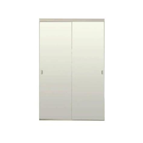 home depot mirrored closet doors 48 in x 80 in white mirror with back painted