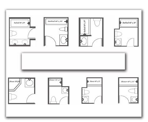 floor plans for small bathrooms 7 beautiful bathroom layouts and designs size bathroom