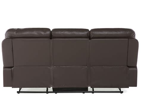 faux leather living room furniture brown faux leather living room furniture set bergen