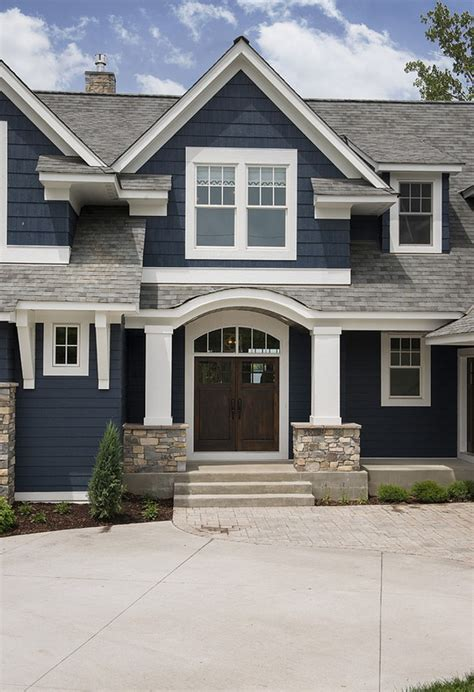 exterior paint colors lake house lake house with navy exterior home bunch interior design