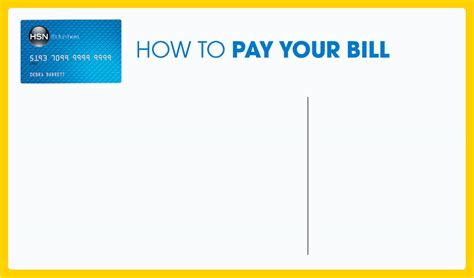can i make payments on my credit card hsn credit card how to pay your bill