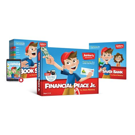 financial peace junior kit teaching how to win with money adventure pack