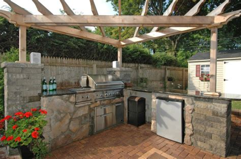outdoor barbeque designs outdoor bbqs this new outdoor bbq kitchen is sto