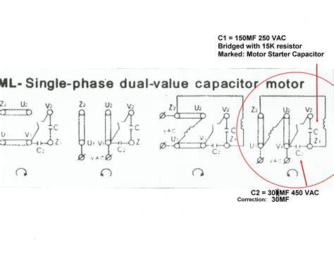 Single Phase Motor by Single Phase Motor Wiring Diagrams Single Free Engine