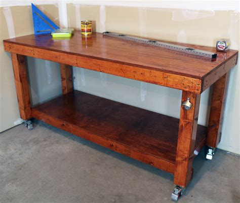 workbench plans diy simple workbench project woodworking bench