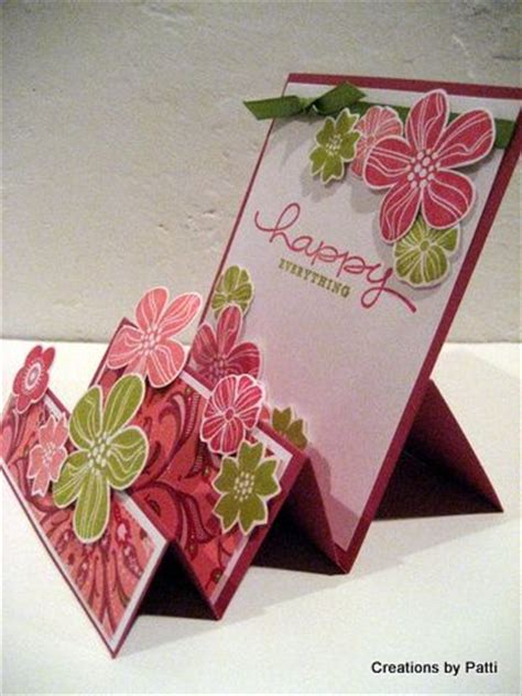 how to make different greeting cards 17 best ideas about folded cards on card