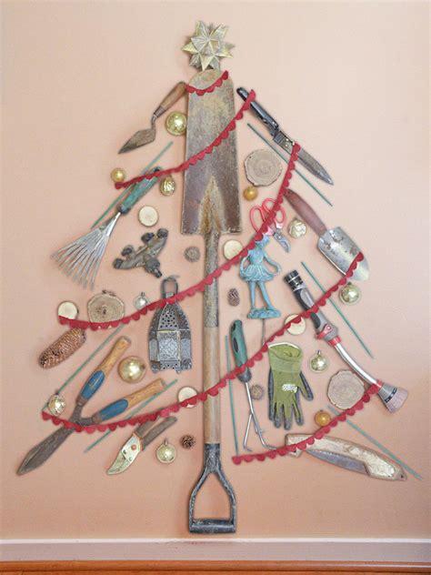 tool ornaments for tree alternative tree ideas hgtv s decorating