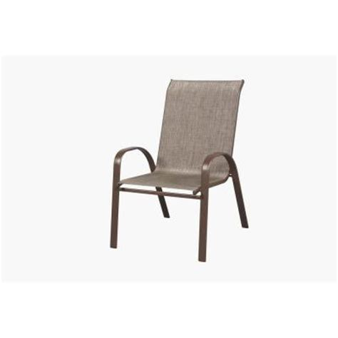 home depot patio chairs oversized sling stack patio chair fcs00015x the home depot