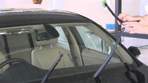 Bmw Windshield Replacement Cost by Bmw E90 3 Series Install Replace Windshield Wipers