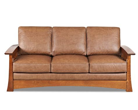 furniture leather sleeper sofa mission style leather sleeper sofa american made cl7016dqsl