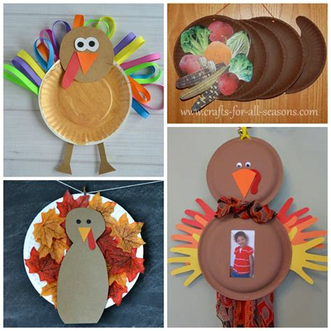 easy thanksgiving paper crafts thanksgiving paper plate crafts for crafty morning
